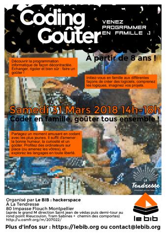 FLyer coding gouter