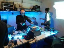 Electromagnetic sound recording