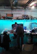 lights in the hackspace