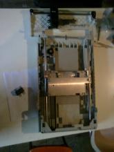 deux scanners vidés et modifiés